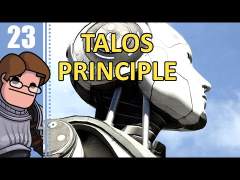 Let's Play The Talos Principle Part 23 - Nerve-Wrecker, Dumb Dumb Mine, Jammed from Within