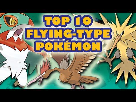 Top 10 Flying-Type Pokémon