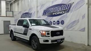 2018 Ford F-150 SuperCrew XLT Sport Special Edition 302A W/ 3.5L EcoBoost Overview | Boundary Ford