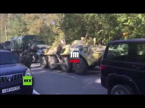 Ejército ruso acude al lugar de la mortal explosión en Crimea