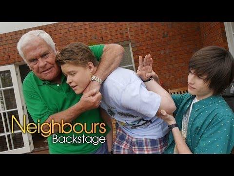 Neighbours Backstage: Morgan Baker Callum Part 2