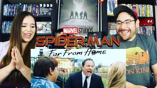Spider-Man FAR FROM HOME - Official Trailer Reaction / Review