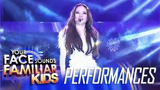 Your Face Sounds Familiar Kids Finale: AC Bonifacio as Sarah Geronimo - Kilometro