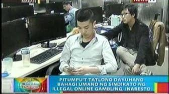 73 dayuhang bahagi umano ng sindikato ng illegal online gambling, inaresto sa Makati City