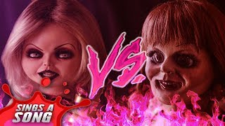 Annabelle vs Tiffany (The Conjuring Vs Childs Play Chucky Scary Rap Battle Parody)