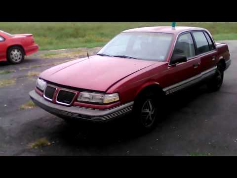 My Review on the 1990 Pontiac Grand am LE edition