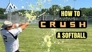 How to Crush a Softball