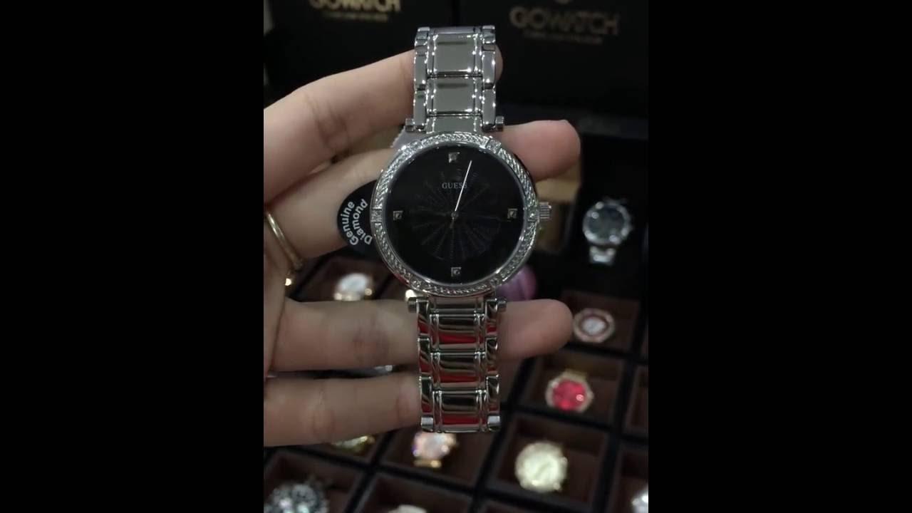 Tone U0695l1 Silver Diamonds With Classic Watch Modern Guess Nn0kXP8wO