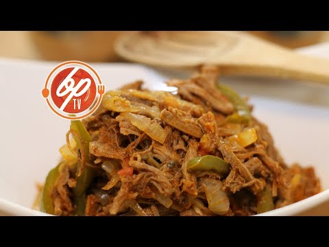 How To Make Ropa Vieja - Shredded Beef Stew