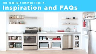 Inspiration And Faqs Part 4 Of The Total Diy Kitchen Series