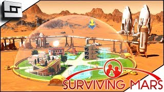 Our First Dome! Surviving Mars Gameplay! E2