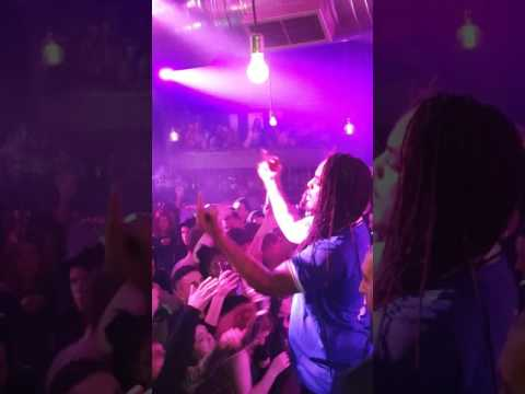 Waka flocka flame LIVE GREECE (athens studio 24)