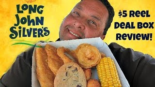 Long John Silver\x27s® $5 Reel Deal Box REVIEW!