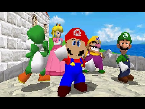 N64 Mario in Super Mario 64 DS Hack