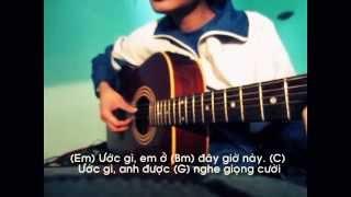 ƯỚC GÌ - MỸ TÂM (Lời và hợp âm guitar)