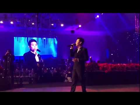 Part1 MARCELITO POMOY Indonesia Live Concert (The Prayer + Beauty And The Beast)