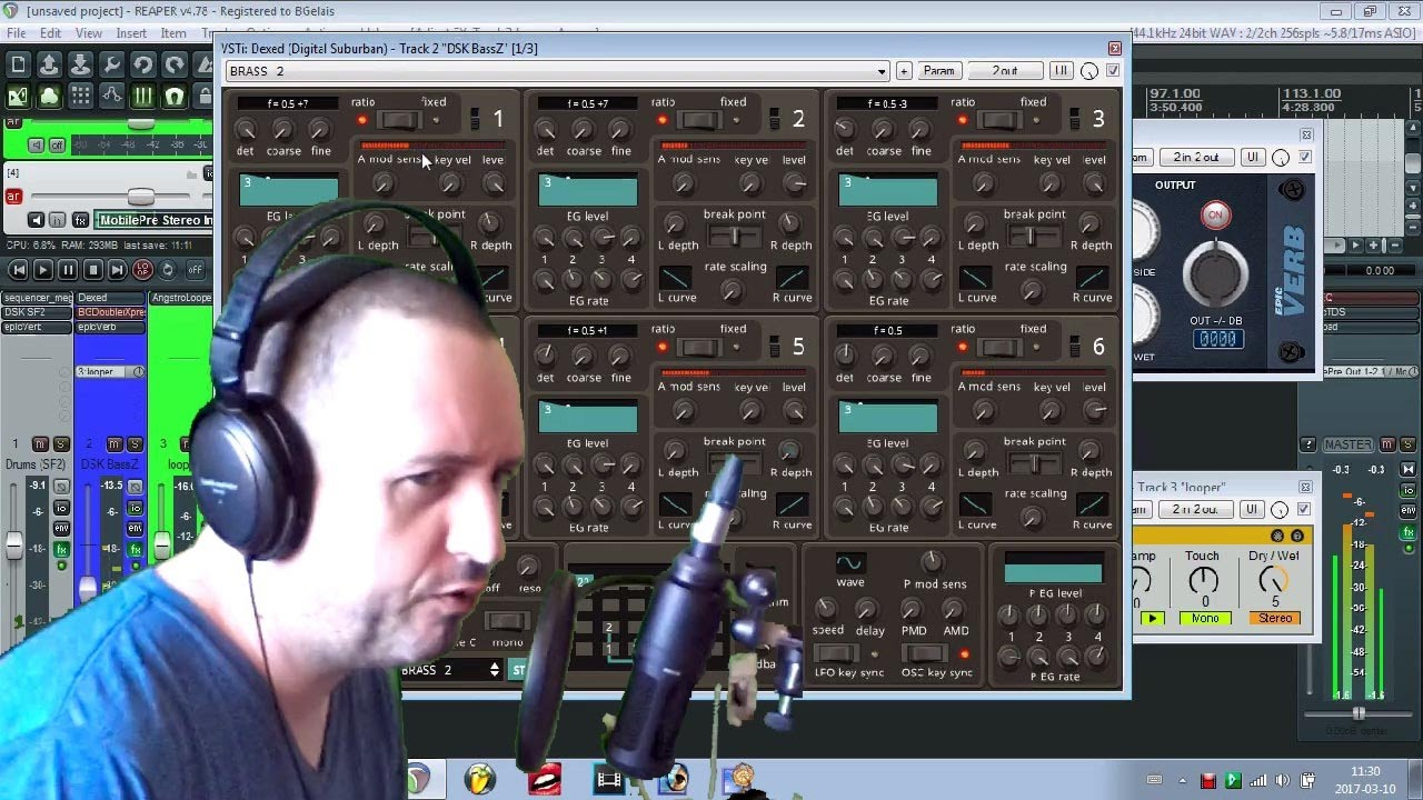 DEXED VSTi revisited with Yamaha DX7 Factory patches
