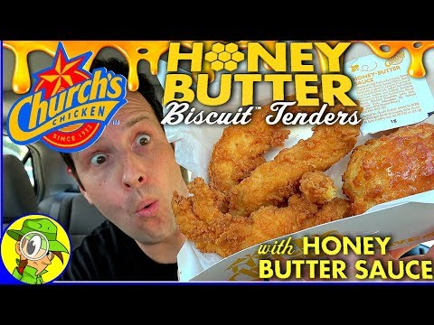 Church's Chicken®   Honey Butter Biscuit™ Tenders   Food Review! 😛🍯🍗