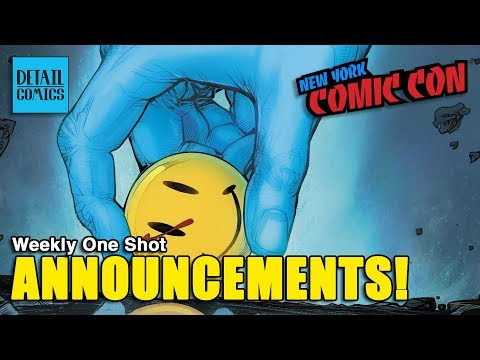 DC & Marvel News From New York Comic Con 2017 (Doomsday Clock) || Weekly One Shot