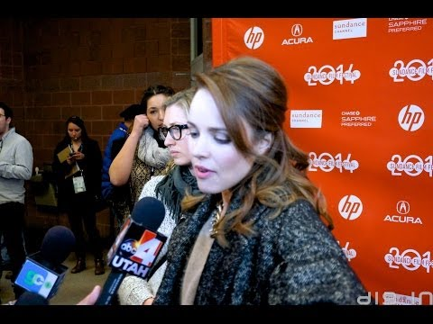 Rachel McAdams & Grigoriy Dobrygin at Sundance 2014  A MOST WANTED MAN