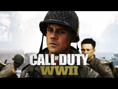 CALL OF DUTY: WW2 All Cutscenes (Game Movie) 1080p HD
