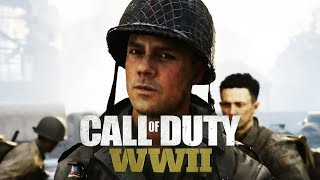 CALL OF DUTY: WW2 All Cutscenes (Game Movie) 1080p HD