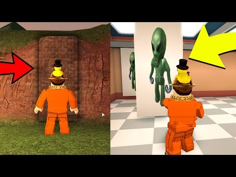 SECRET ALIEN UFO BASE in JAILBREAK THEORY! (Roblox Jailbreak)