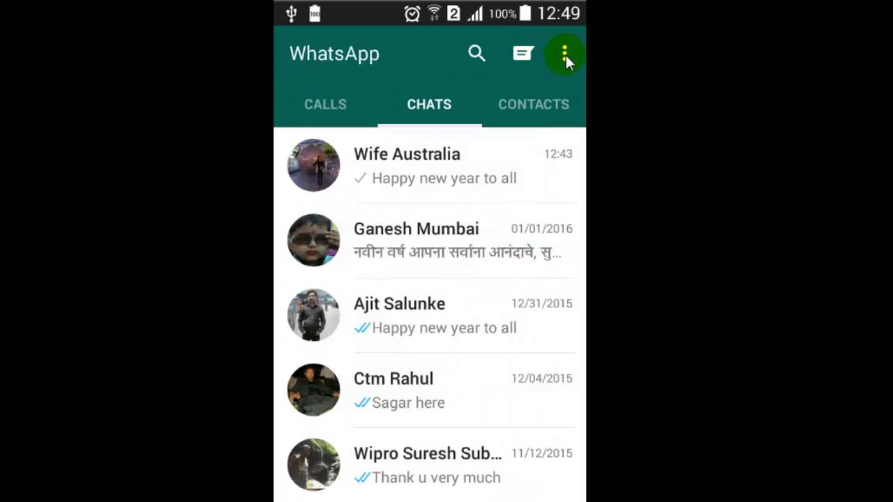 How To Forward A Message To Multiple Contacts In Whatsapp Youtube