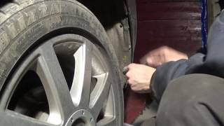 Audi A4 B7 Демонтаж заднего бампера. Замена датчика парковки.