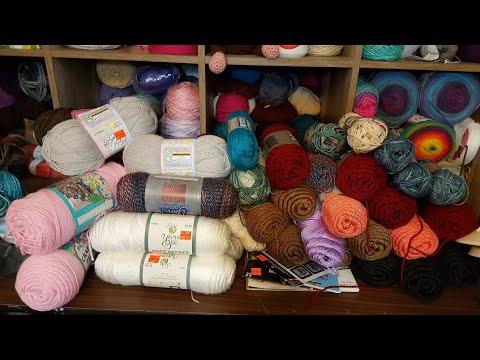 Hobby Lobby Yarn Sale Haul