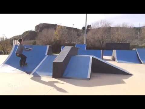 Roller Freestyle | Igualada skate park | Marc Torrents Yeste