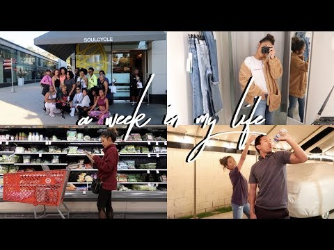 Weekly Vlog: Soul Cycle, Straight Arm Challenge + Shopping    FarinaVlogs