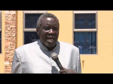 Alfred Taban On National Dialogue's Meeting with UNHCR Delegation
