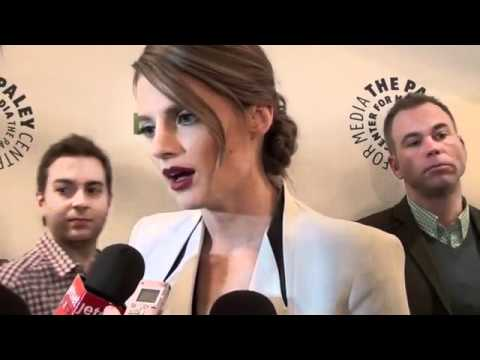 Stana Katic - Castle PaleyFest Interview