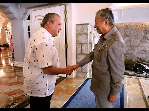 Dr Mahathir: Sultan Ibrahim and I will be frank and open with each other