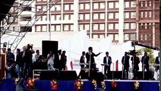 master saleem live performance in chandigarh university cu fest