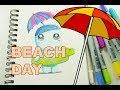 Beach Ready Sketch!