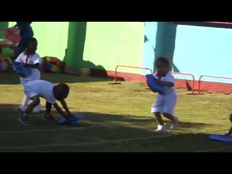 Sportsday at Dunby Nursery School, Harare 4 August 2015