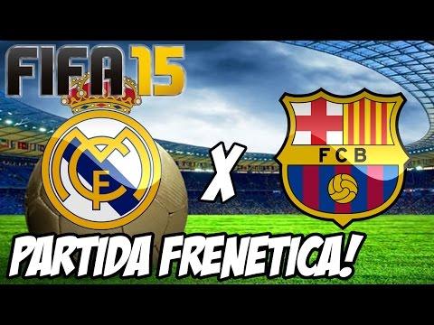 Fifa 15 - Barcelona x Real Madrid! Campeonato Espanhol!