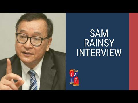 Sam Rainsy Interview on SRP-HRP Merger