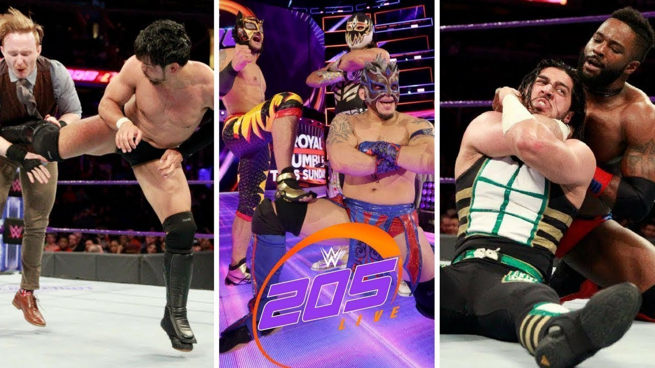 Download WWE 205 23rd January 2018 Highlight hd - WWE 205 LIVE highlite today    wrestling tube   wrestling