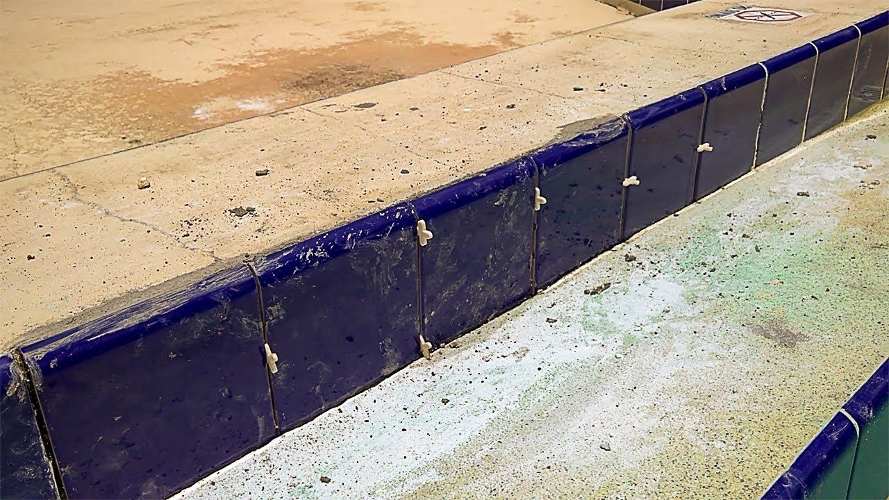swimming pool tile repair