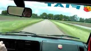 Fiat Ritmo Abarth 130 TC Strada onboard 2012 by Rally Bas