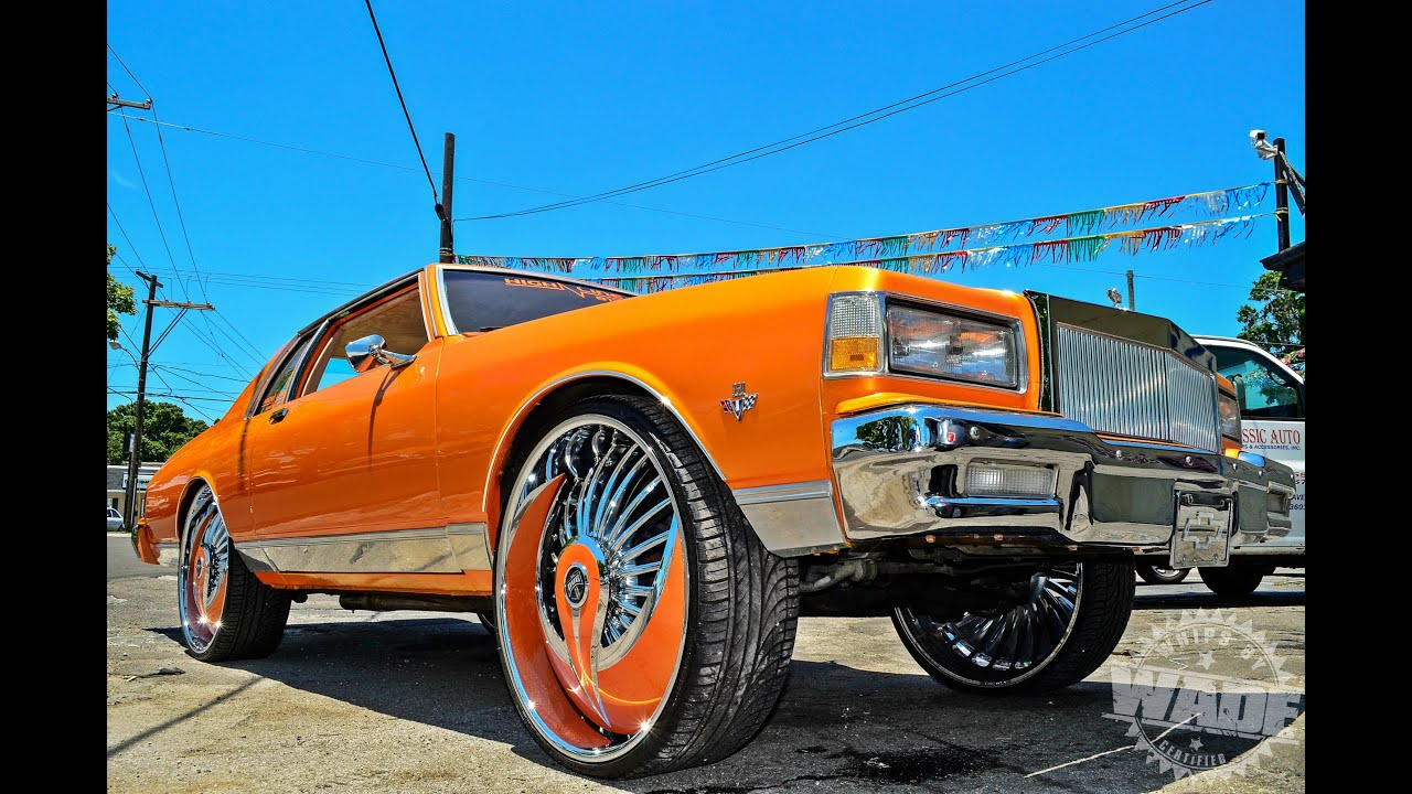 High line auto sports 2 door chevy caprice coupe on 28 dub azzmackas www whipsbywade com youtube