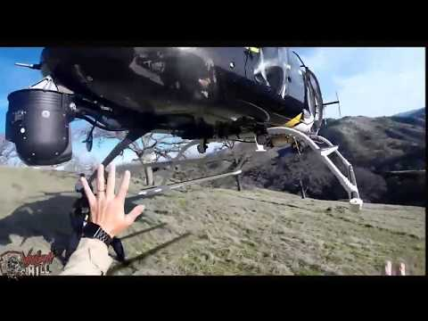 (Bodycam Footage) Calf stuck in a tree Rescued by Sheriff Air Crew of STARR 1 Helicopter
