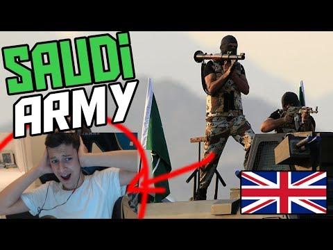 *REACTION* SAUDI ARMY - القوات السعودية الخاصة(Reaction Saud