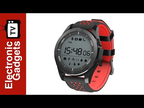 NO.1 F3 Sports Watch with Pedometer, Sleep Monitor, Sedentary Reminder, IP68 Waterproof