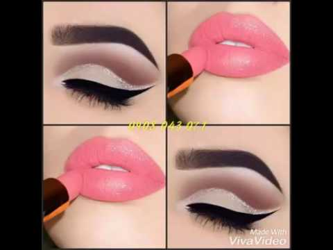 Cách phối màu mắt và môi đẹp