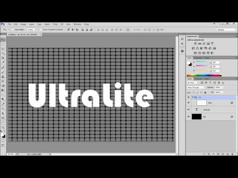 Music Equalizer Text Effect | Photoshop CS6 | UltraLite Tutorial |