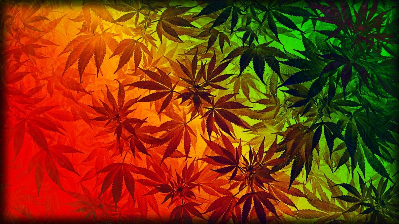 Обои для рабочего стола конопли логотип марихуаны